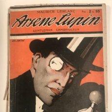 Libros antiguos: GENTELMAN CAMBRIOLEUR ARSENE LUPIN MAURICE LEBLANC EDITIONS PIERRE LAFITE 1921. Lote 204550071