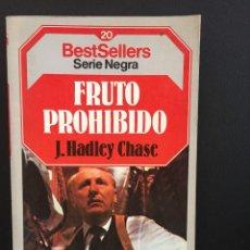 Livres anciens: FRUTO PROHIBIDO - J- HADLEY CHASE. Lote 204607215