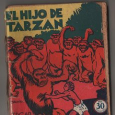Libros antiguos: EL HIJO DE TARZAN, COLECCIÓN MISTERIO 88, ED. ROVIRA (TOR), ARGENTINA 1932. Lote 206837596