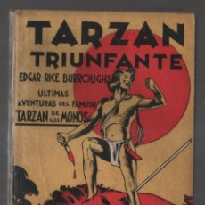 Libros antiguos: TARZAN TRIUNFANTE, COLECCIÓN MISTERIO 119, ED. ROVIRA (TOR), ARGENTINA 1932. Lote 206837832