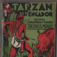 Libros antiguos: TARZAN EL VENGADOR TRIUNFANTE, (APÓCRIFO) COLECCIÓN MISTERIO 121, ED. ROVIRA (TOR), ARGENTINA 1932. Lote 206837872
