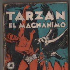 Libros antiguos: TARZAN EL MAGANÁNIMO, (APÓCRIFO) COLECCIÓN MISTERIO 126, ED. ROVIRA (TOR), ARGENTINA 1932. Lote 206837911