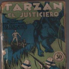 Libros antiguos: TARZAN EL JUSTICIERO (APÓCRIFO) COLECCIÓN MISTERIO 129, ED. ROVIRA (TOR), ARGENTINA 1932. Lote 206837932