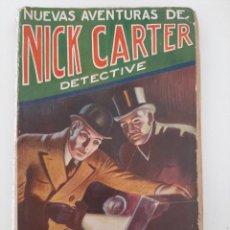 Libros antiguos: NUEVAS AVENTURAS DE NICK CARTE. S. L. DACRE. LA NOVELA DE AVENTURAS 108. IBERIA. 1929. Lote 207670351
