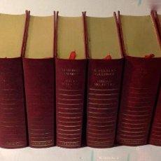 Libros antiguos: EDGAR WALLACE – OBRAS SELECTAS – CARROGGIO, 1985 – 11 LIBROS TAPA ROJA COLECCIÓN. Lote 208390800