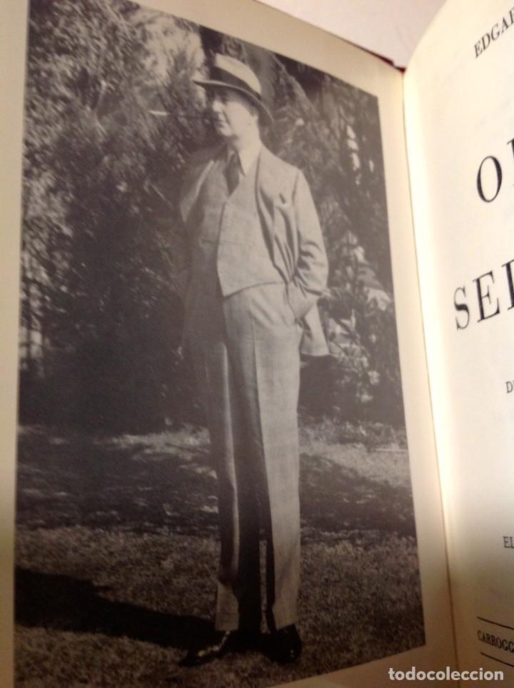 Libros antiguos: Edgar Wallace – Obras Selectas – Carroggio, 1985 – 11 LIBROS Tapa Roja Colección - Foto 6 - 208390800