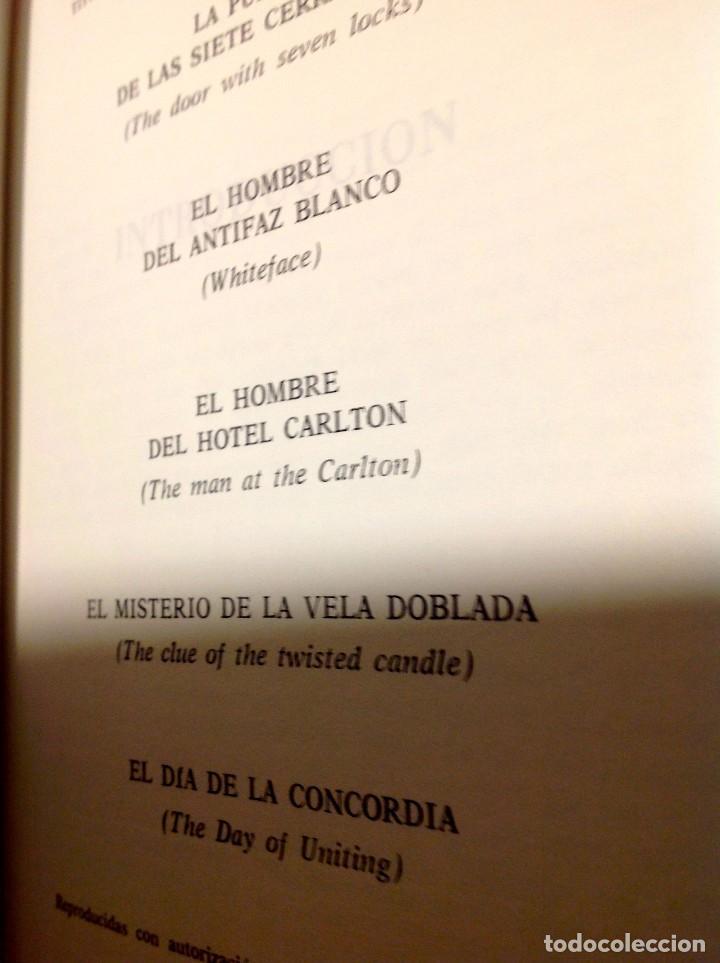 Libros antiguos: Edgar Wallace – Obras Selectas – Carroggio, 1985 – 11 LIBROS Tapa Roja Colección - Foto 7 - 208390800