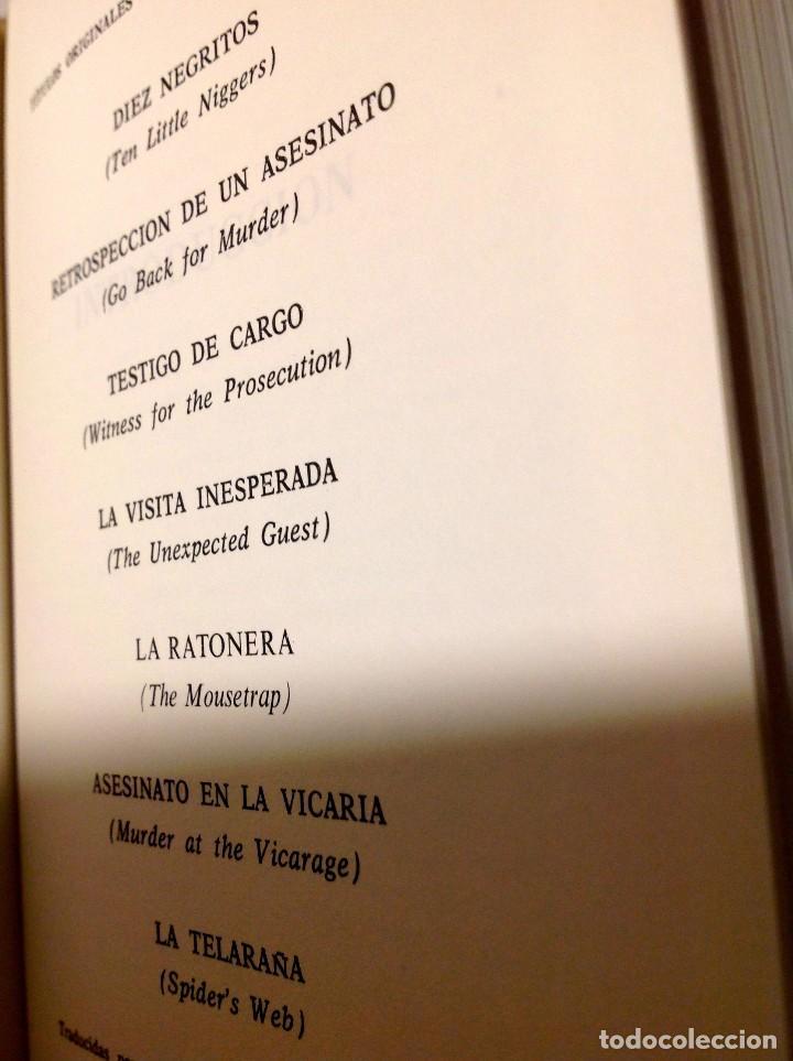 Libros antiguos: Edgar Wallace – Obras Selectas – Carroggio, 1985 – 11 LIBROS Tapa Roja Colección - Foto 10 - 208390800