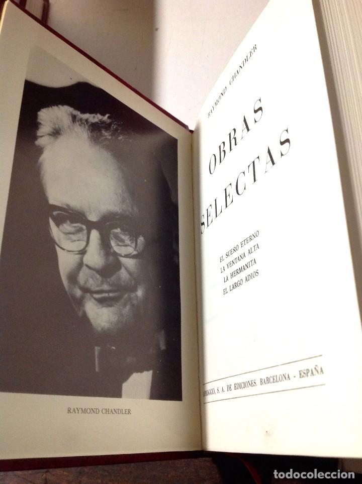 Libros antiguos: Edgar Wallace – Obras Selectas – Carroggio, 1985 – 11 LIBROS Tapa Roja Colección - Foto 11 - 208390800
