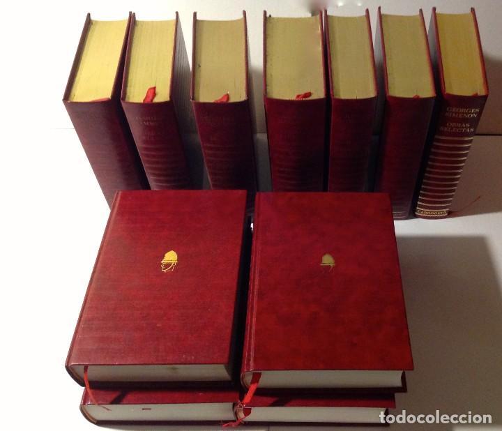 Libros antiguos: Edgar Wallace – Obras Selectas – Carroggio, 1985 – 11 LIBROS Tapa Roja Colección - Foto 13 - 208390800