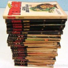 Libros antiguos: LOTE DE 21 EJEMPLARES TERROR (GEMINI) + LOTE DE 6 EXTRA TERROR (ROMEU). ILUSTRADOS.. Lote 174971044
