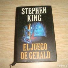 Livres anciens: EL JUEGO DE GERALD STEPHEN KING TAPA DURA CON SOBRECUBIERTA CIRCULO DE LECTORES. Lote 210053496