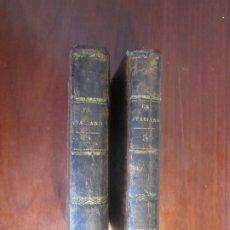 Libros antiguos: EL ITALIANO O EL CONFESONARIO DE LOS PENITENTES NEGROS ANA RADCLIFFE 1838 BARCELONA TOMO 2-3. Lote 210089228