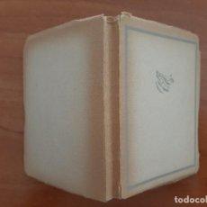 Livres anciens: 1938 EDGAR A. POE . TRADUCCIÓN ESCLASANS / EN CATALÁN. Lote 210710534