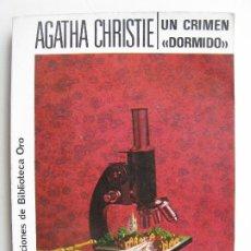 Livres anciens: AGATHA CHRISTIE EDITORIAL MOLINO UN CRIMEN DORMIDO. Lote 214388578
