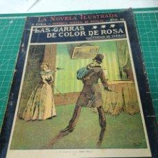 Livres anciens: PONSON DU TERRAIL. ROCAMBOLE. LAS GARRAS DE COLOR ROSA. LA NOVELA ILUSTRADA. Lote 216834403