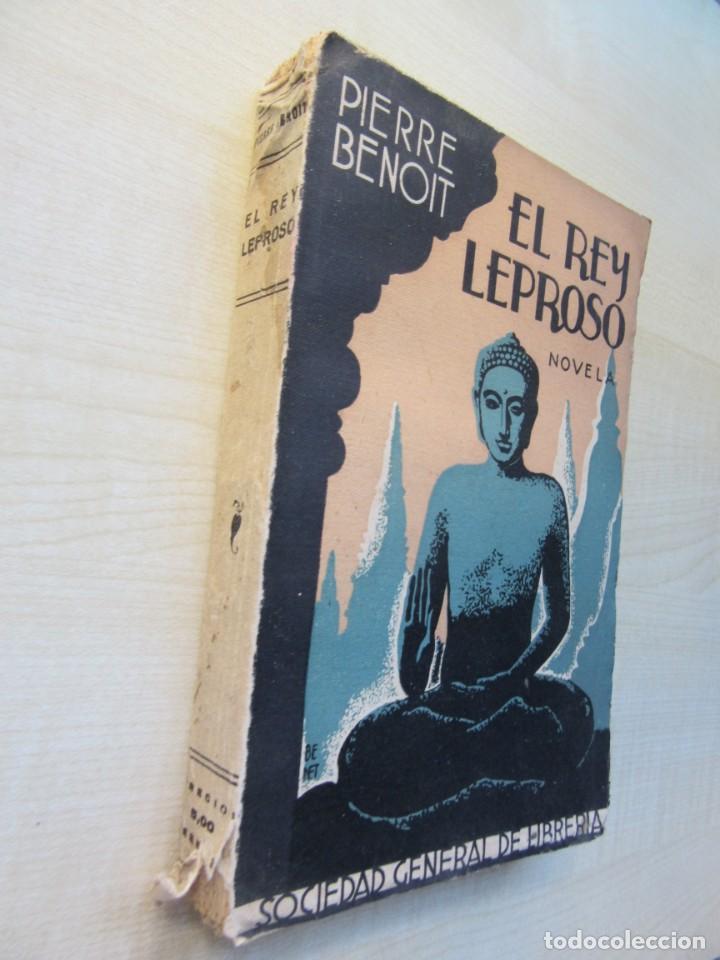 Libros antiguos: El Rey Leproso Autor Pierre Benoit Edita Dirección General de Librería a927 - Foto 2 - 217022781