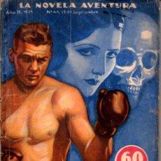 Libros antiguos: PHILIP MAC DONALD : LA MUERTE A MI IZQUIERDA (NOVELA AVENTURA, 1934). Lote 217588973