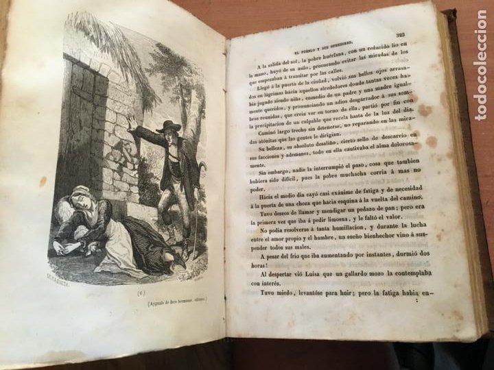 Libros antiguos: EL PALACIO DE LOS CRIMENES O EL PUEBLO Y SUS OPRESORES WENCESLAO AYGUALS DE ISCO 1855 (LB48) - Foto 5 - 222983196