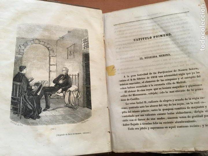 Libros antiguos: EL PALACIO DE LOS CRIMENES O EL PUEBLO Y SUS OPRESORES WENCESLAO AYGUALS DE ISCO 1855 (LB48) - Foto 7 - 222983196