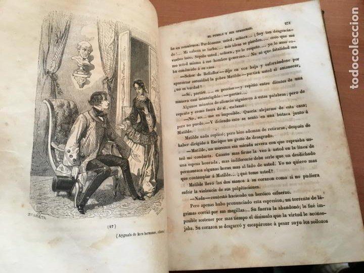 Libros antiguos: EL PALACIO DE LOS CRIMENES O EL PUEBLO Y SUS OPRESORES WENCESLAO AYGUALS DE ISCO 1855 (LB48) - Foto 8 - 222983196