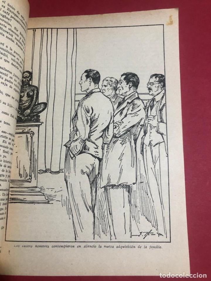 "Libros antiguos: Novela ilustrada ""Ídolos Robados"". Biblioteca oro. Ed. Molino. - Foto 3 - 227870935"