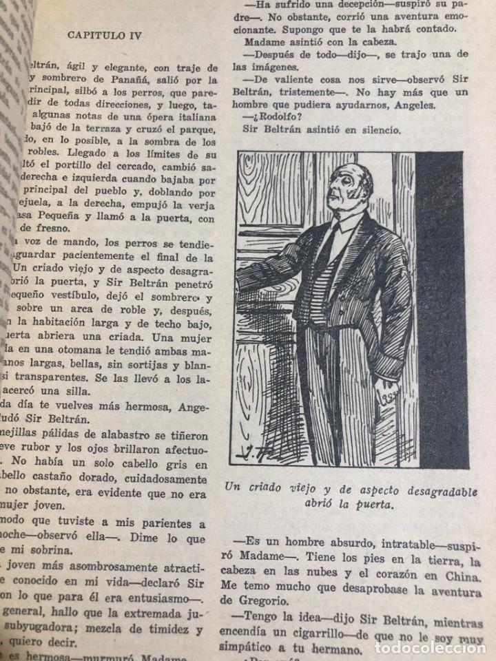 "Libros antiguos: Novela ilustrada ""Ídolos Robados"". Biblioteca oro. Ed. Molino. - Foto 4 - 227870935"