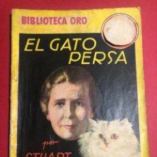 "Libros antiguos: NOVELA ILUSTRADA ""EL GATO PERSA"". BIBLIOTECA ORO. ED. MOLINO.. Lote 227878760"