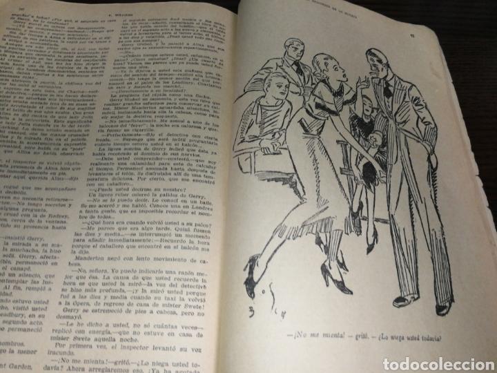 Libros antiguos: AÑO 1934, 1°EDICIÓN, NOVELA POLICÍACA, LA RESPUESTA DE LA MUERTE, 95 PÁGINAS - Foto 2 - 230294325