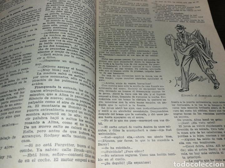 Libros antiguos: AÑO 1934, 1°EDICIÓN, NOVELA POLICÍACA, LA RESPUESTA DE LA MUERTE, 95 PÁGINAS - Foto 3 - 230294325