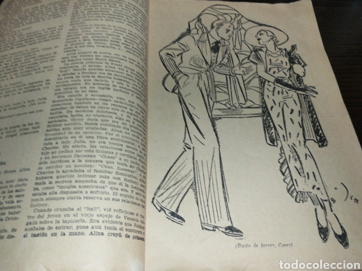 Libros antiguos: AÑO 1934, 1°EDICIÓN, NOVELA POLICÍACA, LA RESPUESTA DE LA MUERTE, 95 PÁGINAS - Foto 4 - 230294325