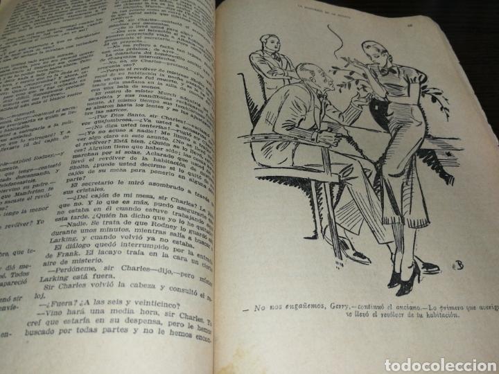 Libros antiguos: AÑO 1934, 1°EDICIÓN, NOVELA POLICÍACA, LA RESPUESTA DE LA MUERTE, 95 PÁGINAS - Foto 5 - 230294325