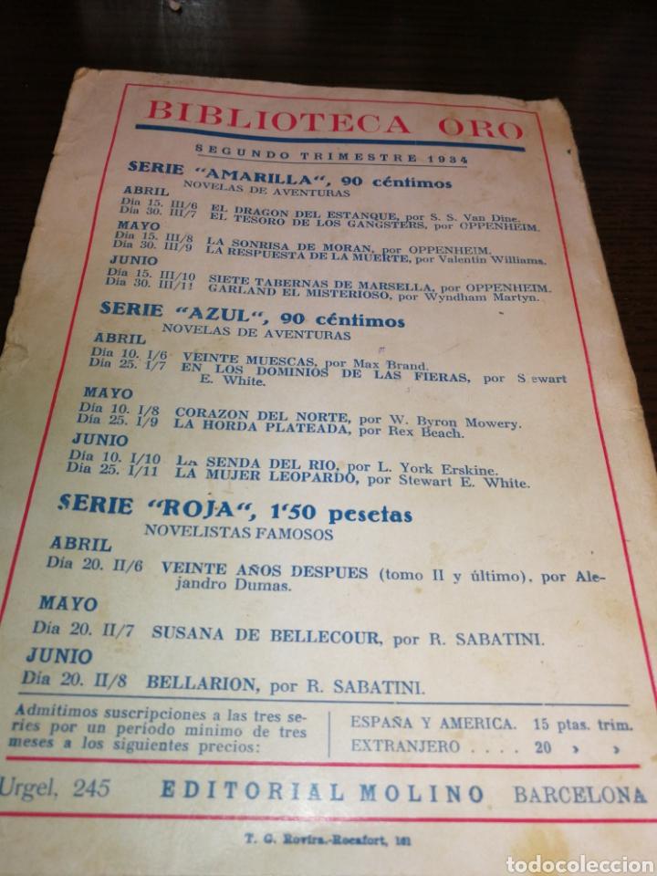 Libros antiguos: AÑO 1934, 1°EDICIÓN, NOVELA POLICÍACA, LA RESPUESTA DE LA MUERTE, 95 PÁGINAS - Foto 6 - 230294325