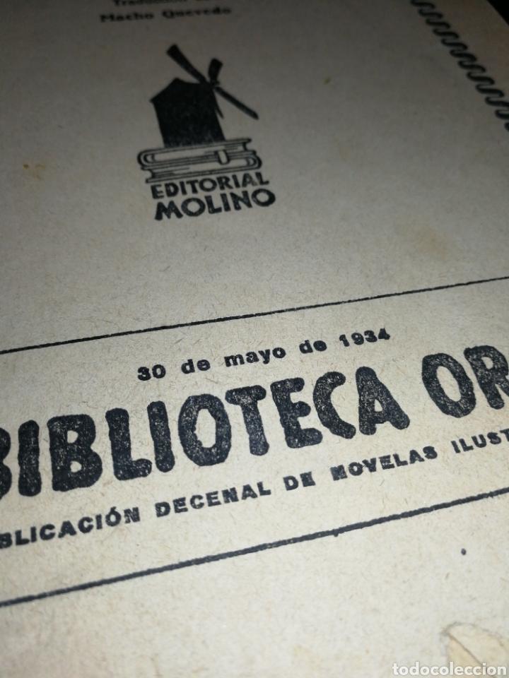 Libros antiguos: AÑO 1934, 1°EDICIÓN, NOVELA POLICÍACA, LA RESPUESTA DE LA MUERTE, 95 PÁGINAS - Foto 7 - 230294325