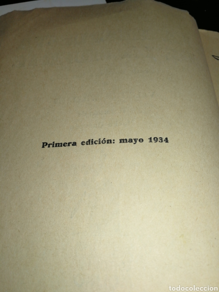 Libros antiguos: AÑO 1934, 1°EDICIÓN, NOVELA POLICÍACA, LA RESPUESTA DE LA MUERTE, 95 PÁGINAS - Foto 8 - 230294325