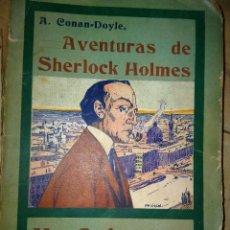 Libros antiguos: UN CRIMEN EXTRAÑO - SHERLOCK HOLMES - MADRID 1907 - LA NOVELA ILUSTRADA. Lote 231170095