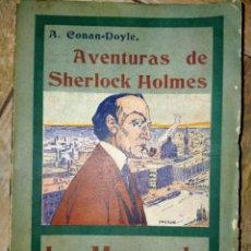 Libros antiguos: LA MARCA DE LOS CUATRO - AVENTURAS DE SHERLOCK HOLMES - MADRID 1907 - LA NOVELA ILUSTRADA. Lote 231170805