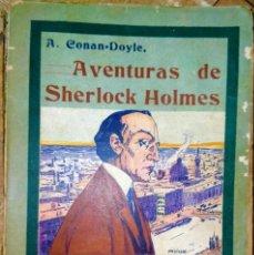 Libros antiguos: LA RESURRECCIÓN DE SHERLOCK HOLMES - AVENTURAS - LA EDITORIAL HISPANO AMERICANA - 1908. Lote 231171030