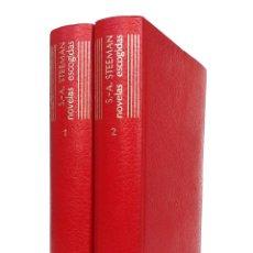 Libros antiguos: 1962 - AGUILAR - STANISLAS-ANDRÉ STEEMAN: NOVELAS ESCOGIDAS - 2 TOMOS - COMPLETO - EL LINCE ASTUTO. Lote 234448815
