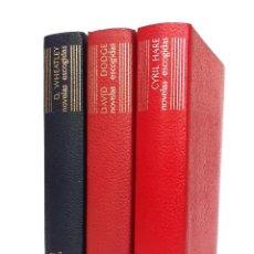 Libros antiguos: 1962 - AGUILAR - EL LINCE ASTUTO - LOTE DE 3 LIBROS - DENNIS WHEATHEY - DAVID DODGE - CYRIL HARE. Lote 234458590
