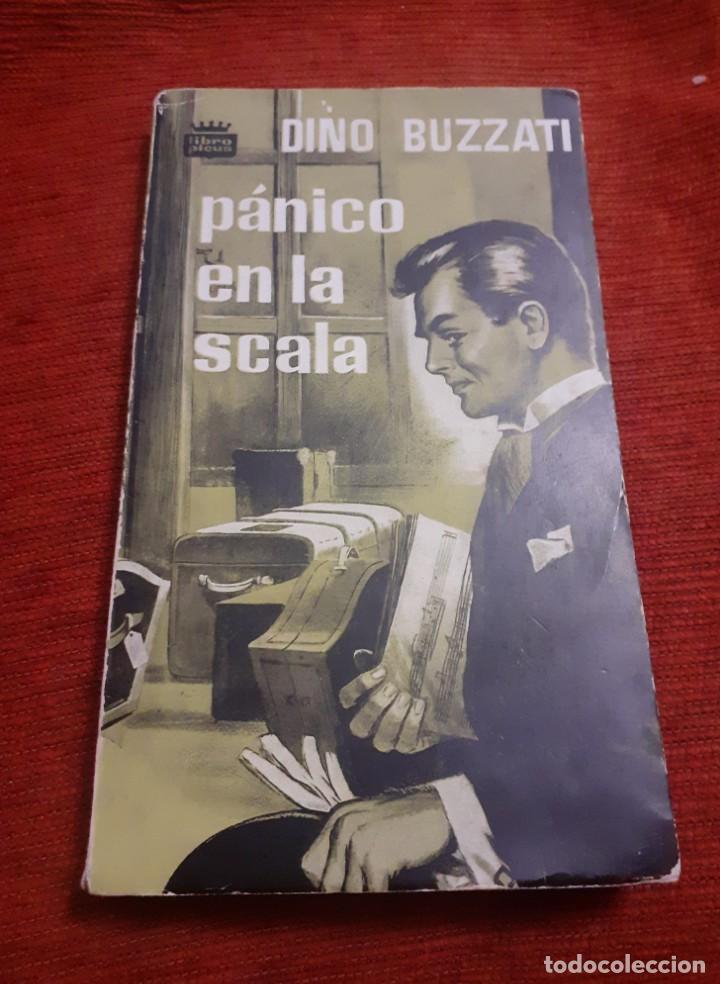 LIBRO PANICO EN LA SCALA (Libros antiguos (hasta 1936), raros y curiosos - Literatura - Terror, Misterio y Policíaco)