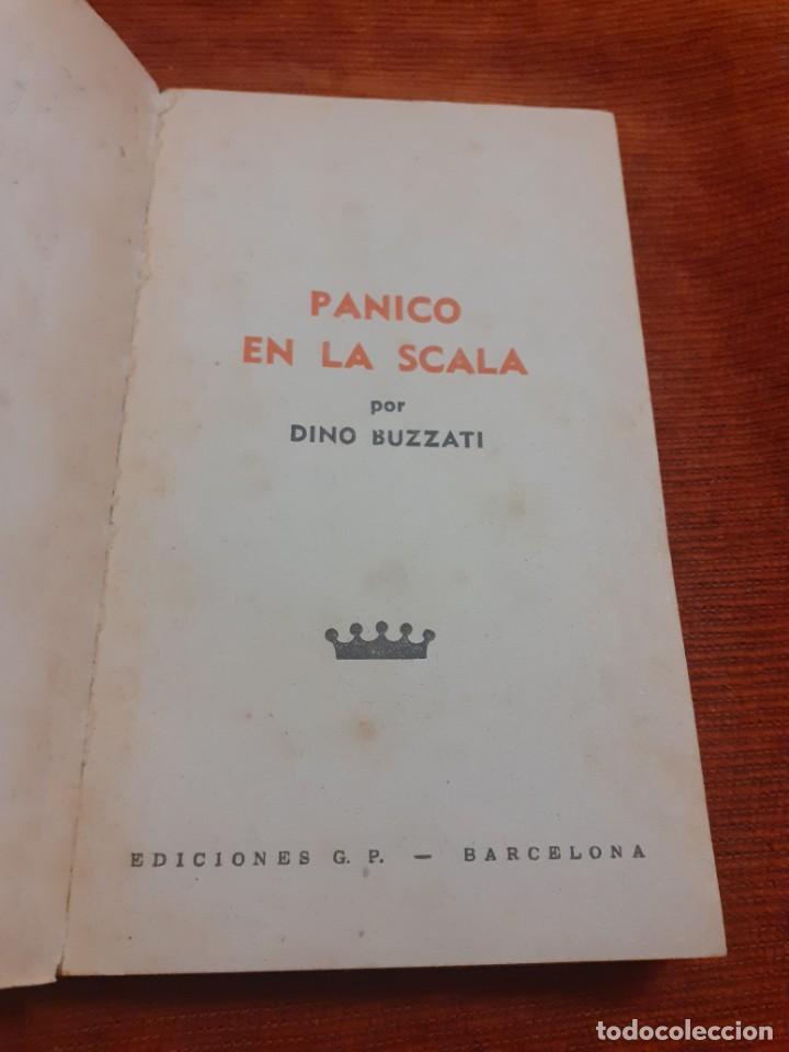 Libros antiguos: Libro Panico en la Scala - Foto 2 - 235001815