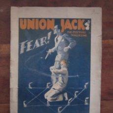 Libros antiguos: UNION JACK. FEAR! SEXTON BLAKE BY GILBERT CHESTER, ETC. MISTERY MAGAZINE Nº 1400. 1930. EN INGLES. Lote 237381265
