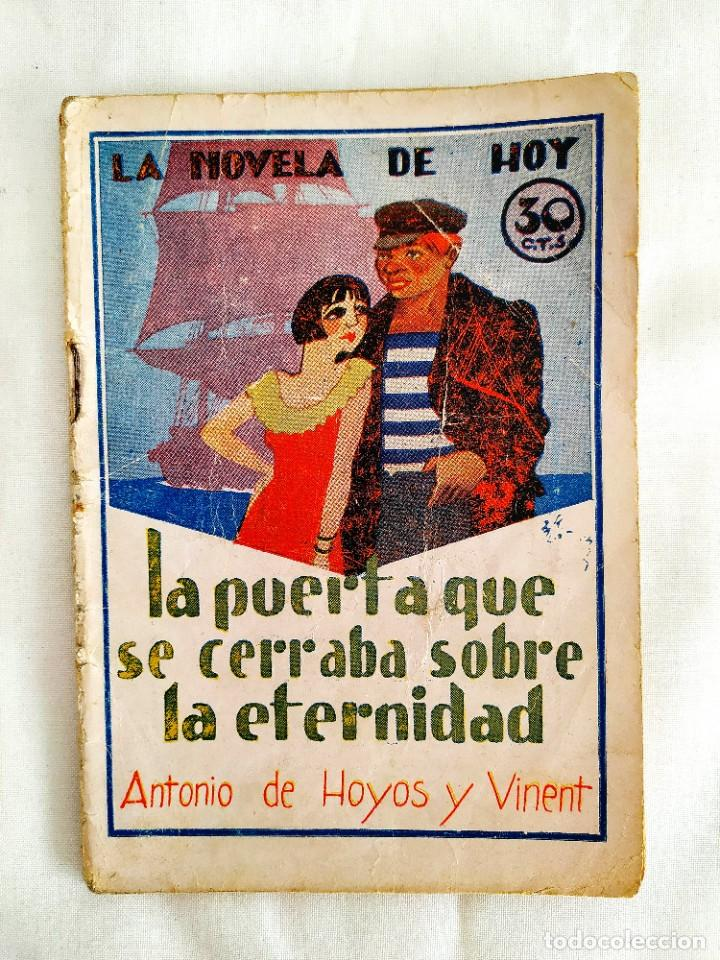 1931 - HOYOS Y VINENT: LA PUERTA QUE SE CERRABA SOBRE LA ETERNIDAD (Libros antiguos (hasta 1936), raros y curiosos - Literatura - Terror, Misterio y Policíaco)