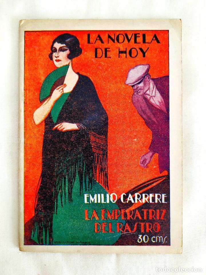 1927 - CARRERE - LA EMPERATRIZ DEL RASTRO (Libros antiguos (hasta 1936), raros y curiosos - Literatura - Terror, Misterio y Policíaco)