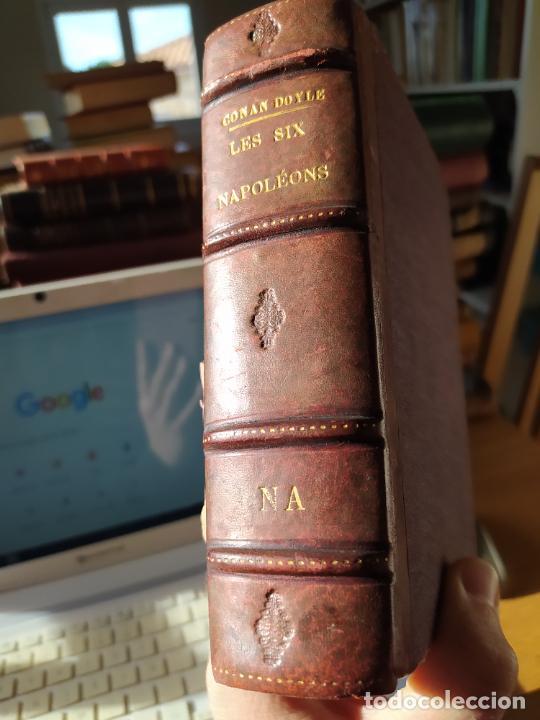 Libros antiguos: Volumen con varias obras de sherlock Holmes, de Conan Doyle. Edicion francesa de 1905, ed. EDP. - Foto 2 - 241848090