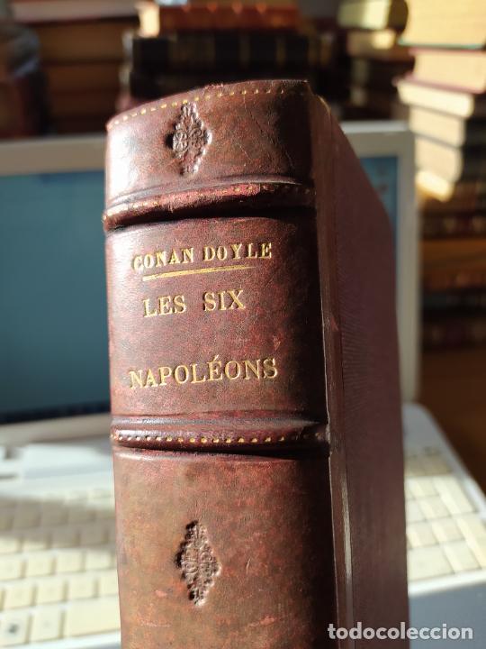 Libros antiguos: Volumen con varias obras de sherlock Holmes, de Conan Doyle. Edicion francesa de 1905, ed. EDP. - Foto 3 - 241848090
