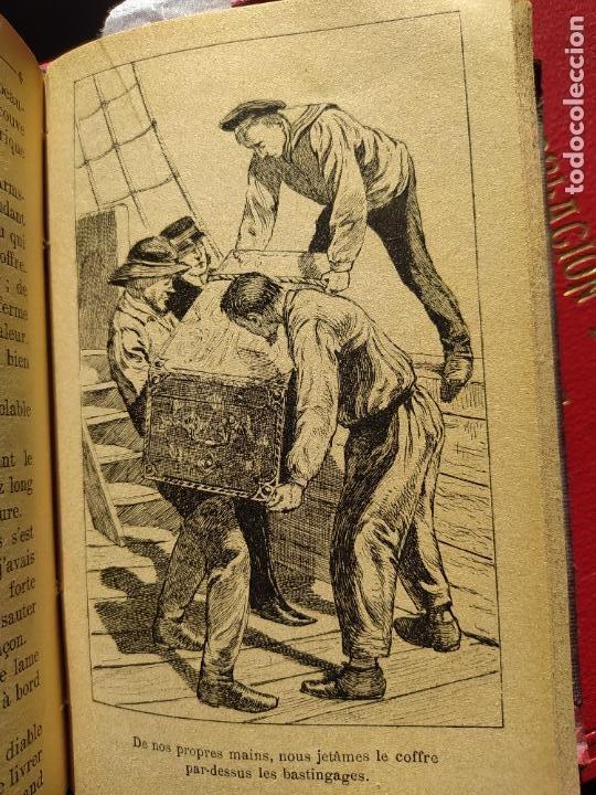 Libros antiguos: Volumen con varias obras de sherlock Holmes, de Conan Doyle. Edicion francesa de 1905, ed. EDP. - Foto 16 - 241848090