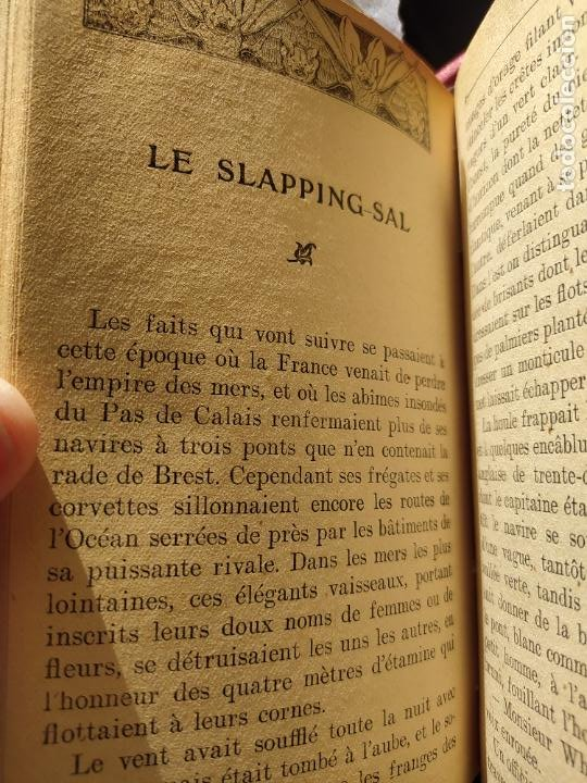Libros antiguos: Volumen con varias obras de sherlock Holmes, de Conan Doyle. Edicion francesa de 1905, ed. EDP. - Foto 18 - 241848090