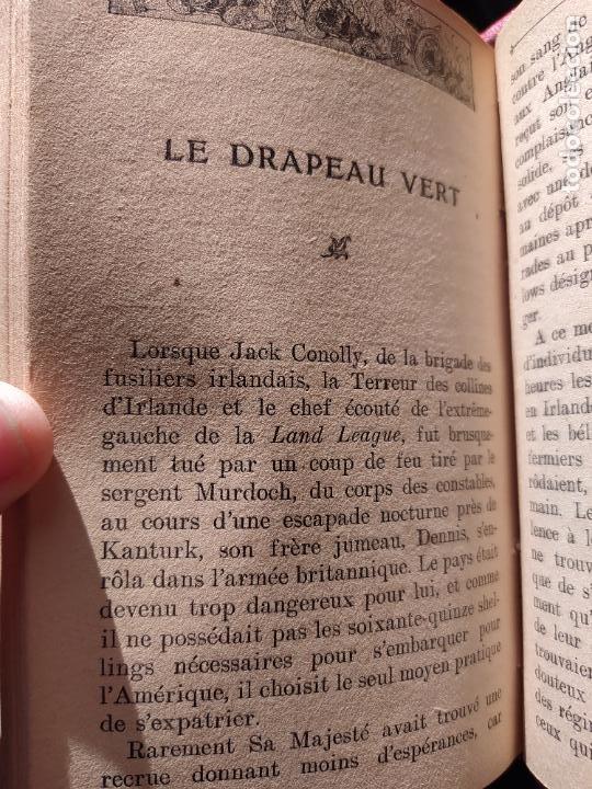 Libros antiguos: Volumen con varias obras de sherlock Holmes, de Conan Doyle. Edicion francesa de 1905, ed. EDP. - Foto 19 - 241848090